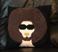 Afro Man Cushion