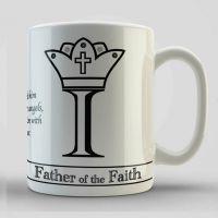 Father of the Faith, Mug and Coaster Set